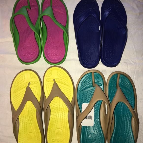 45210979ce1fb CROCS Shoes | Athens Mens Flip Flops Size 12 | Poshmark